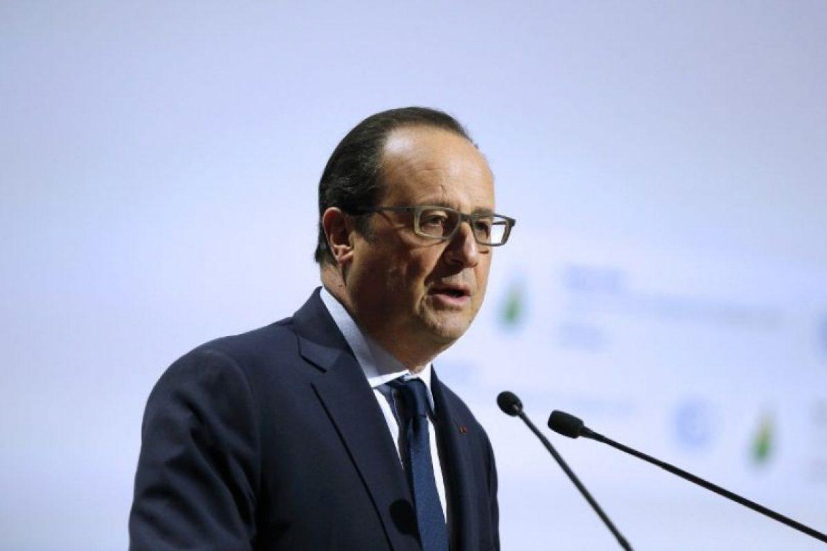 Francois Hollande, presidente de Francia, país anfitrión Foto:AFP