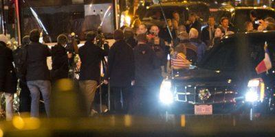 Uno de los atacantes hizo estallar su chaleco bomba Foto:AFP