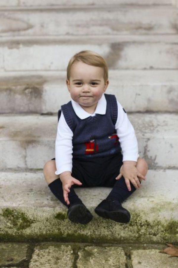 El pasado año para estas fechas divulgaron estas fotos del pequeño. Foto:Getty Images