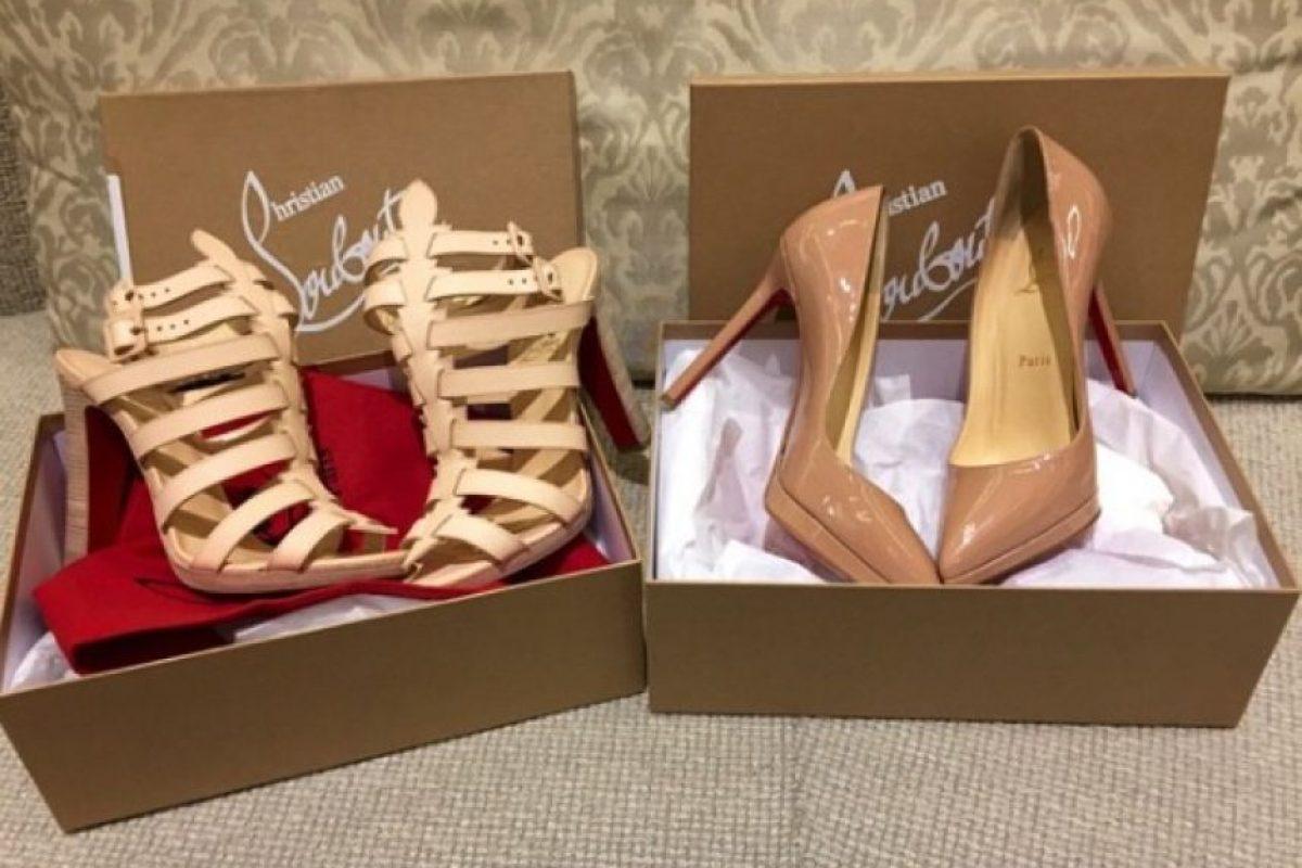 Un par como estos alcanza un precio de mil 200 dólares. Foto:vía instagram.com/missale_xo