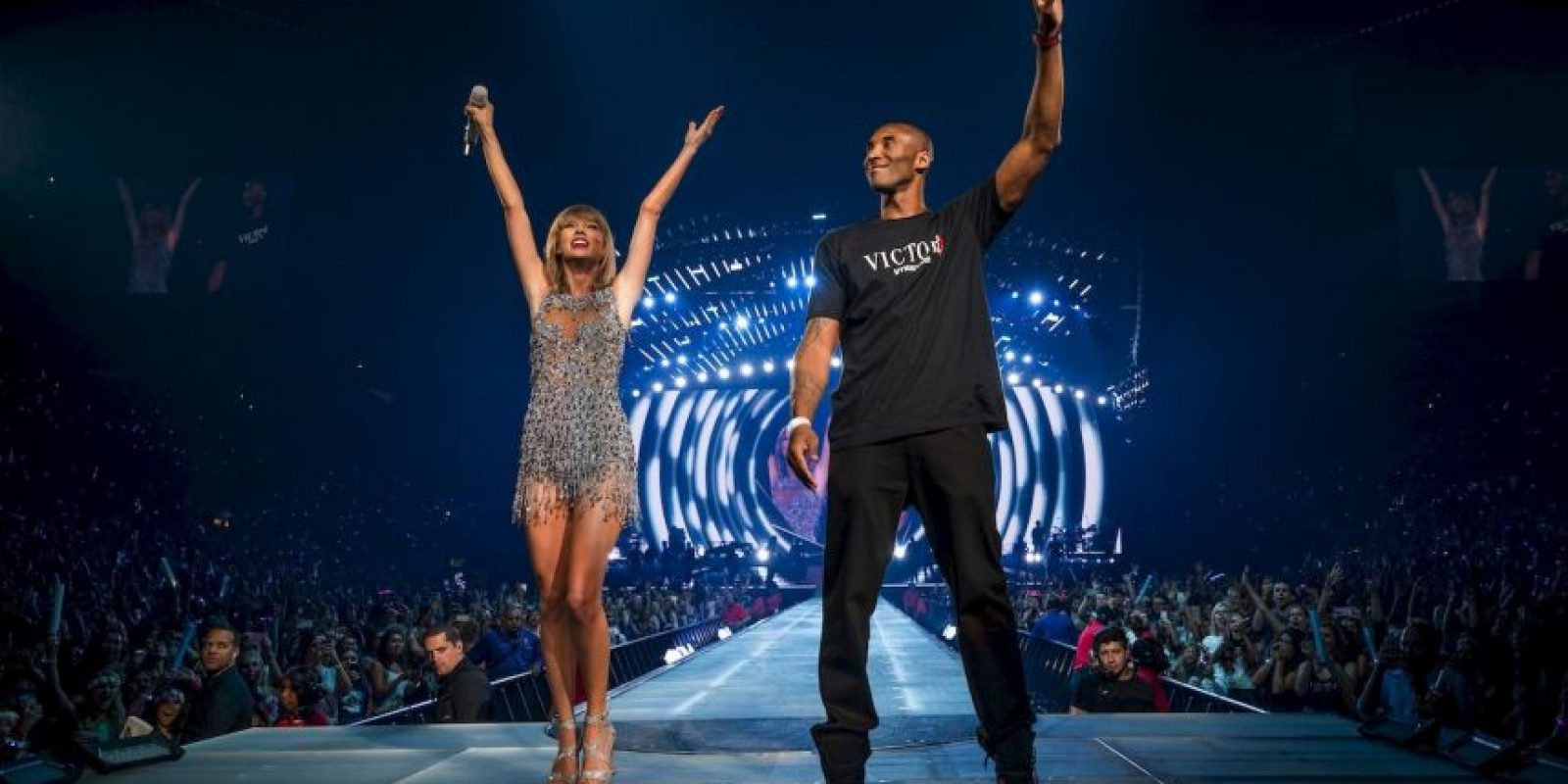 2015, de invitado especial de Taylor Swift Foto: Getty Images