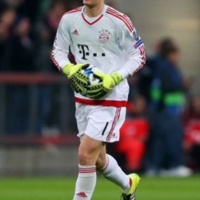 9. Manuel Neuer (Bayern Munich/Alemania). Foto:Getty Images