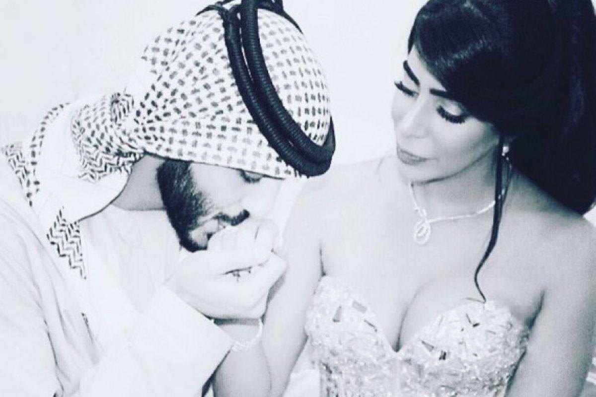 Omar Borkan celebró su boda el pasado mes. Foto:vía instagram.com/yasmin.jaz