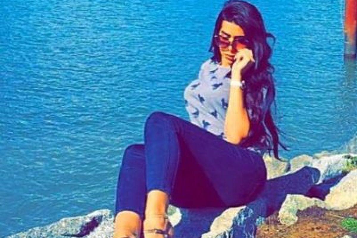 """Pues a sus más de dos millones de fans no les pareció que esta mujer fuera la nueva """"dueña de su corazón"""". Foto:vía instagram.com/yasmin.jaz"""