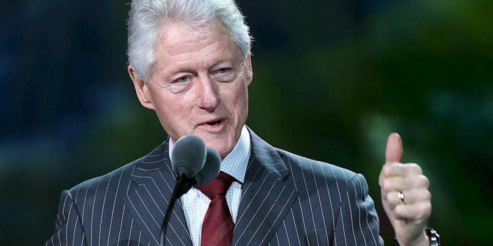 1. Fue el presidente número 42 de Estados Unidos. Foto:Getty Images