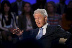 6. Es padre de Chelsea Clinton Foto:Getty Images