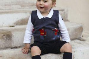 El príncipe George es el primogénito de los duques de Cambridge, Kate y William Foto:Getty Images