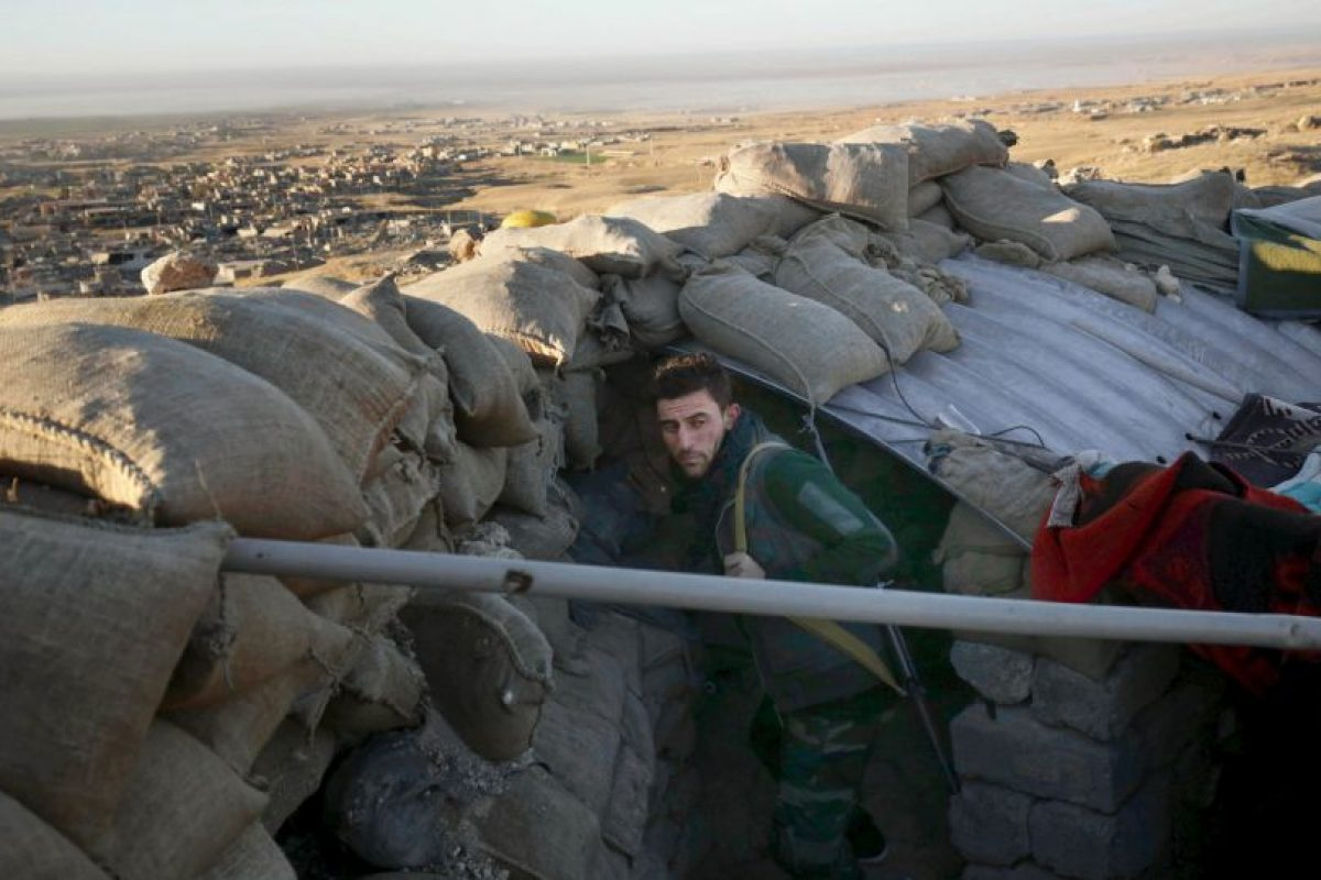 Luego de recuperar el territorio de Sinjar, en Irak, las autoridades encontraron el secreto. Foto:AP