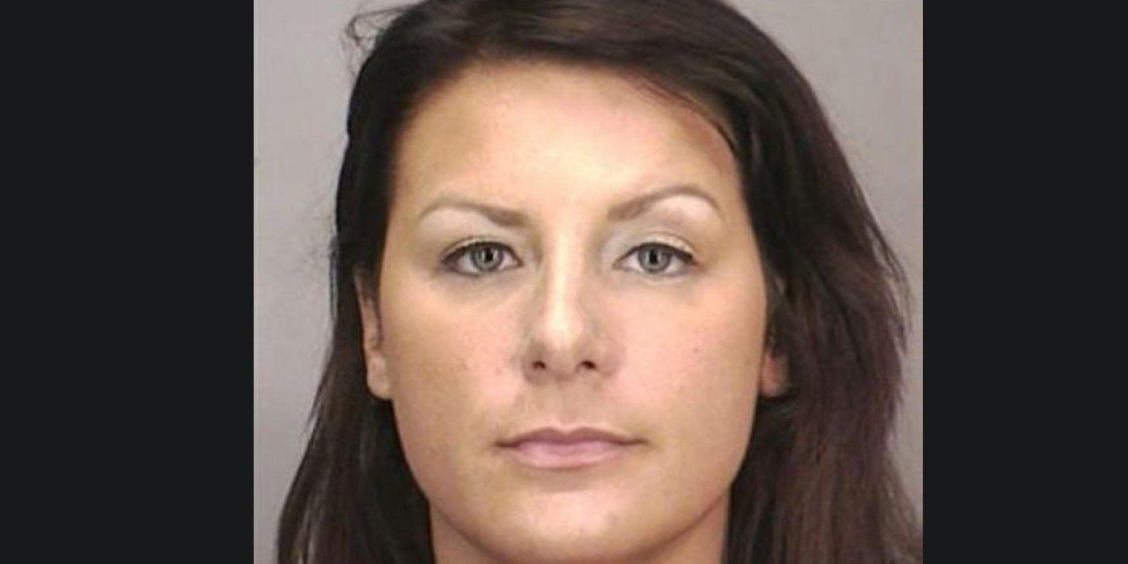 Tara Driscoll fue arrestada por tener relaciones sexuales con un estudiante menor de edad en un motel de Nueva York Foto:Nassau County Police Department