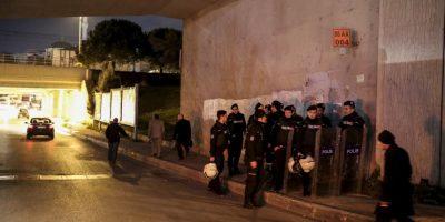 La explosión ocurrió alrededor de las 17:15 hora local Foto:AFP