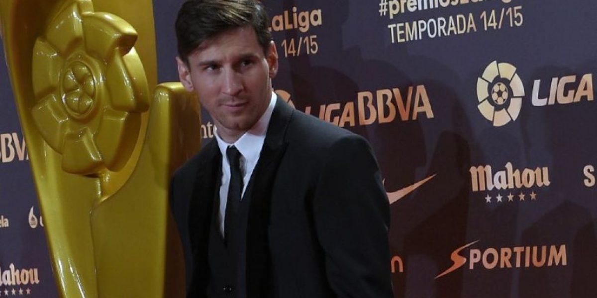 EN IMÁGENES. El Barça y Messi arrasan con los premios de la Liga