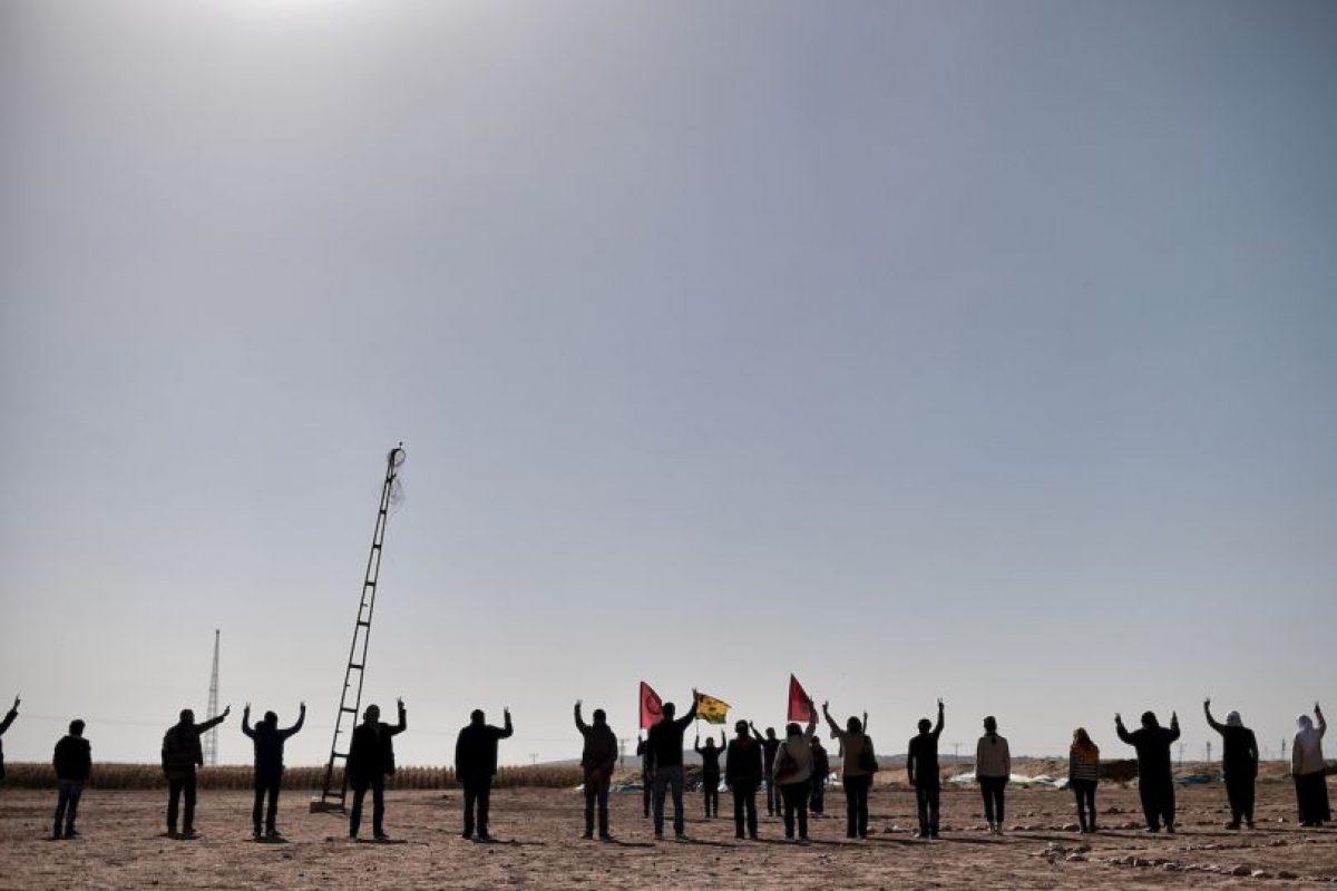 El dinero de este grupo viene del tráfico de armas, de los secuestros y las extorsiones que realiza. Foto:AFP
