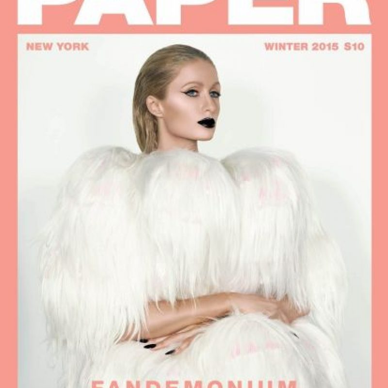 """En su entrevista con la revista """"Paper"""", Paris confesó que en realidad es muy tímida. Foto:Paper Magazine"""