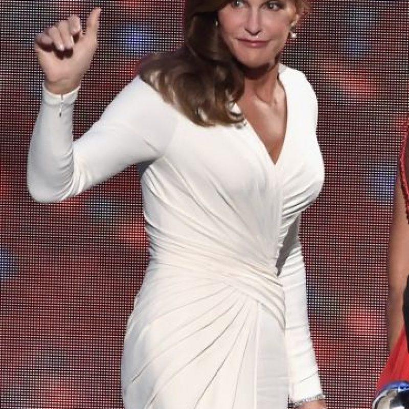 En los premios ESPYs incluso sorprendió con este vestido ajustado. Foto:Getty Images
