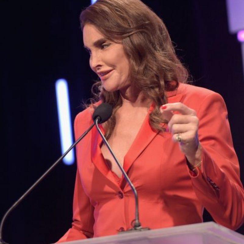 Y en el evento Point Foundation's Annual Voices On Point Gala, se robó toda la atención con su escote Foto:Getty Images