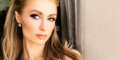 Paris Hilton se mostró