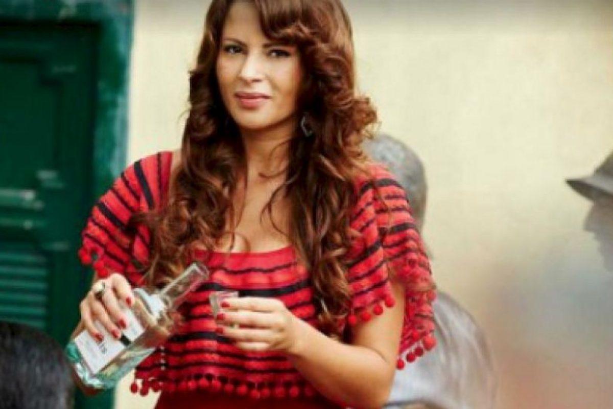 """Stefanía Gómez participó en la serie """"Esmeraldas"""" Foto:vía twitter.com/estefigomez11"""