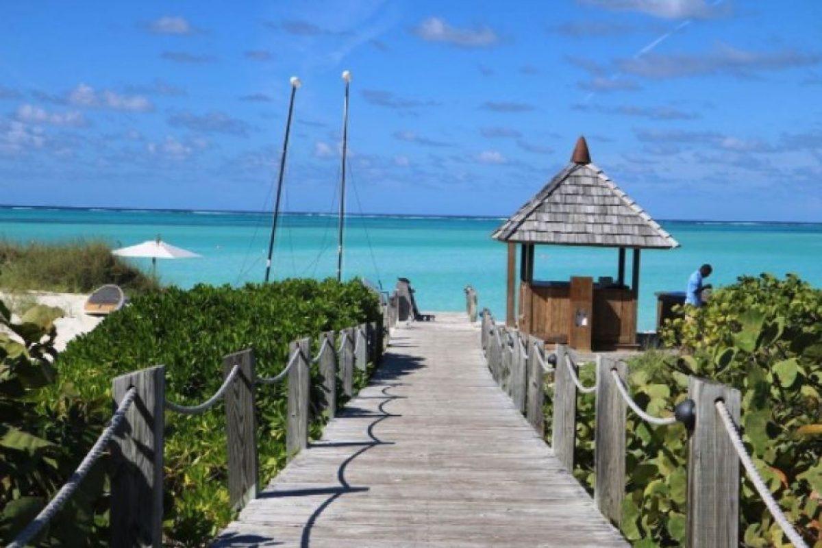 Se hospedaron en el resort Parrot Cay Foto:vía instagram.com