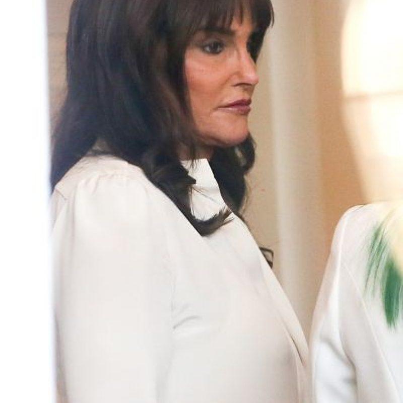 """Caitlyn cambió el corte de su cabello por uno """"tipo bob"""" con flequillo Foto:The Grosby Group"""