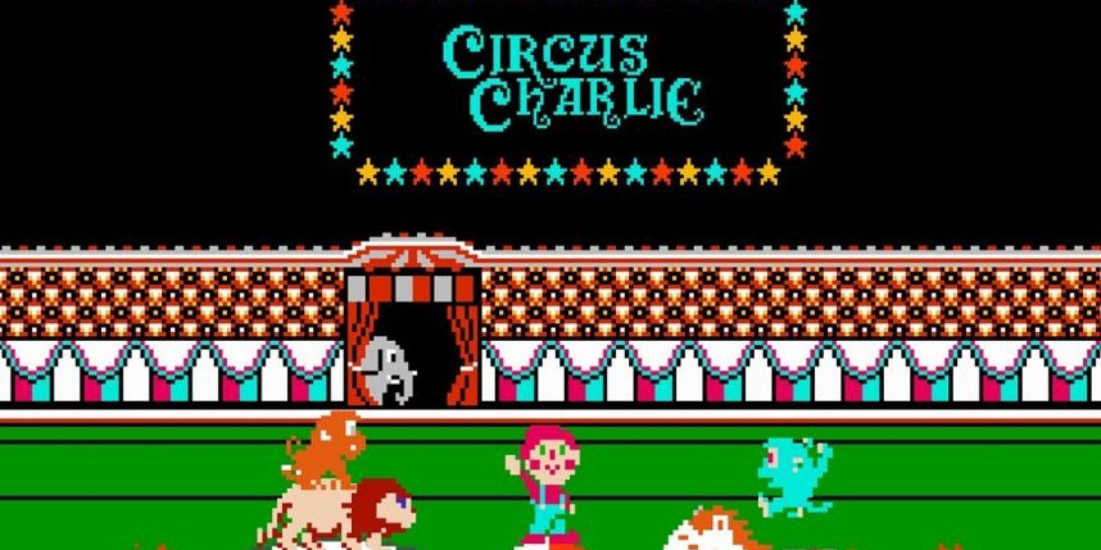 Charlie Circus es para muchos uno de los mejores videojuegos para Atari. El objetivo de este juego era guiar a un payaso por seis niveles que incluían anillos de fuego, caminar por una cuerda, saltar sobre bolas, montar un caballo y hacer un acto de trapecio. Foto:Konami
