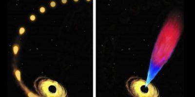 """Científicos observan por primera vez un hoyo negro """"devorando"""" una estrella"""