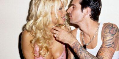 Pamela Anderson se casó con Tommy Lee solo luego de 96 horas. Foto:vía Getty Images