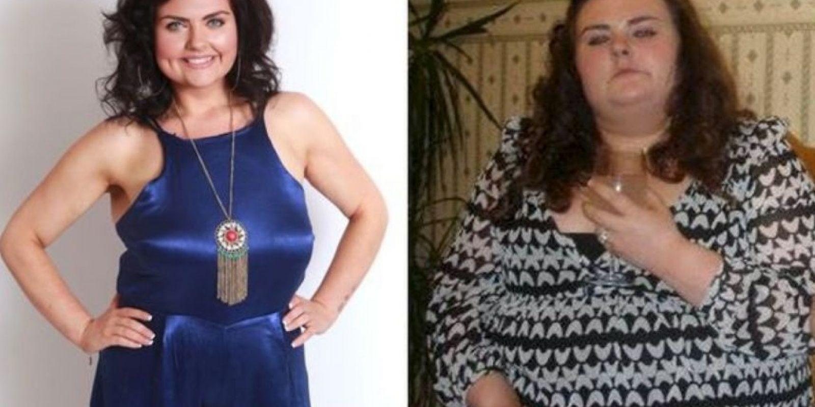 Poco después, Paige bajó de peso y abandonó a su novio. Miren el antes y después. Foto:Tumblr