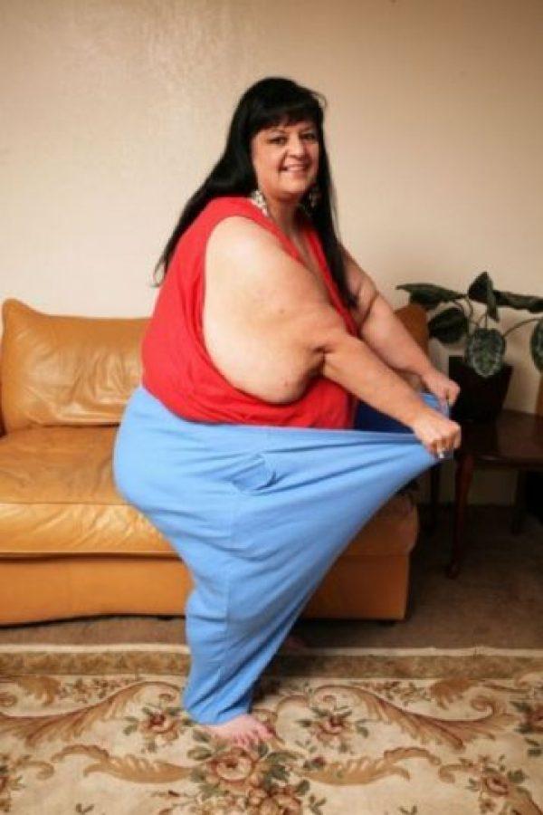 1. Patty Sánchez era engordada por su pareja, pues para él resultaba más atractiva. Foto:Vía Barcroft