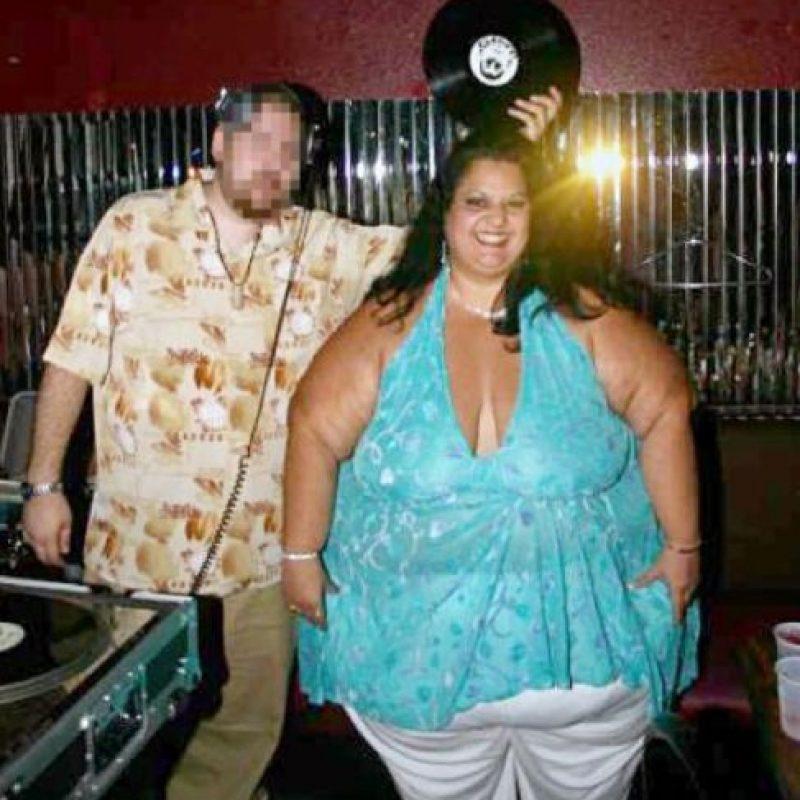 Aquí Patty con su ex. Foto:Vía Barcroft Media