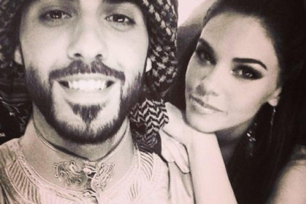 2. Aquí Omar posaba con la modelo y actriz cubana, Livia Brito. ¿Les parecía una mejor candidata? Foto:Vía Instagram/omarborkan