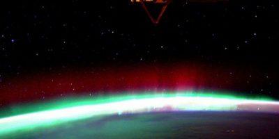La aurora boreal Foto:Vía instagram.com/stationcdrkelly