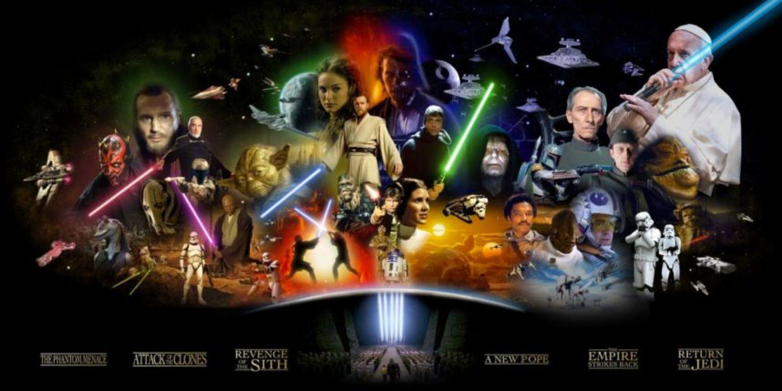 Y como un personaje de Star Wars. Foto:Vía imgur.com/IkhV0tp.jpg