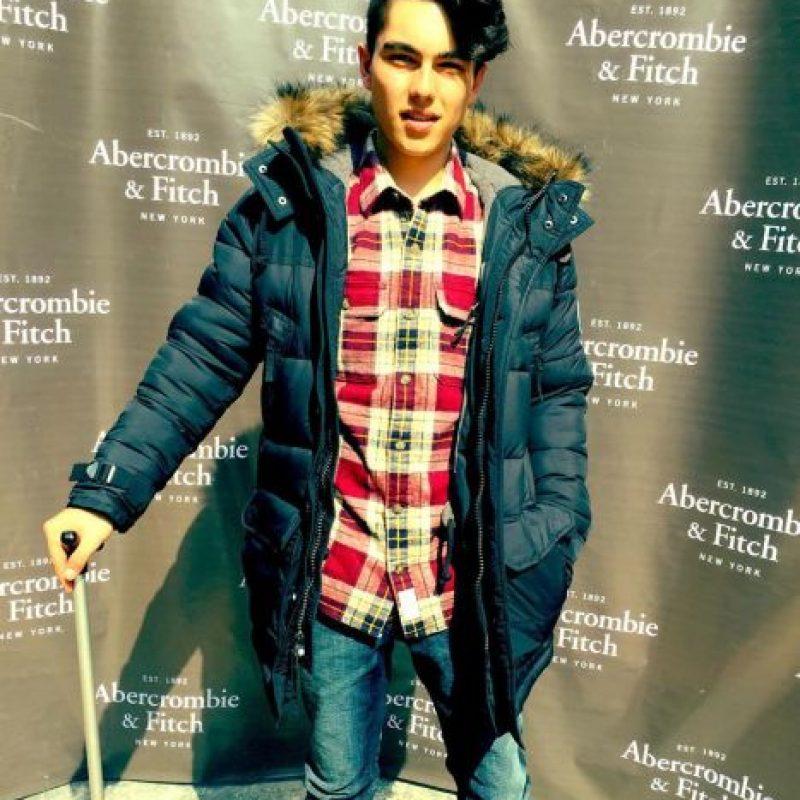 Aquí, en un evento de moda. Foto:vía Instagram/smayermori