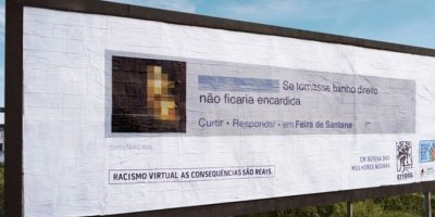 """""""Si se bañara correctamente, ella no sería tan mugrienta"""". Foto:racismovirtual.com.br/"""