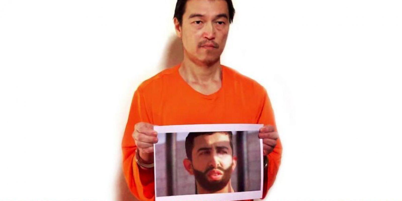 Kenji Goto, periodista japonés. Fue asesinado el sábado, 31 de enero luego de que fracasaran las negociaciones del EI y Jordania por intencambiarlo a él y al piloto jordano Moaz al-Kassasbeh por la prisionera Sajida al-Rishawi. Foto:AFP