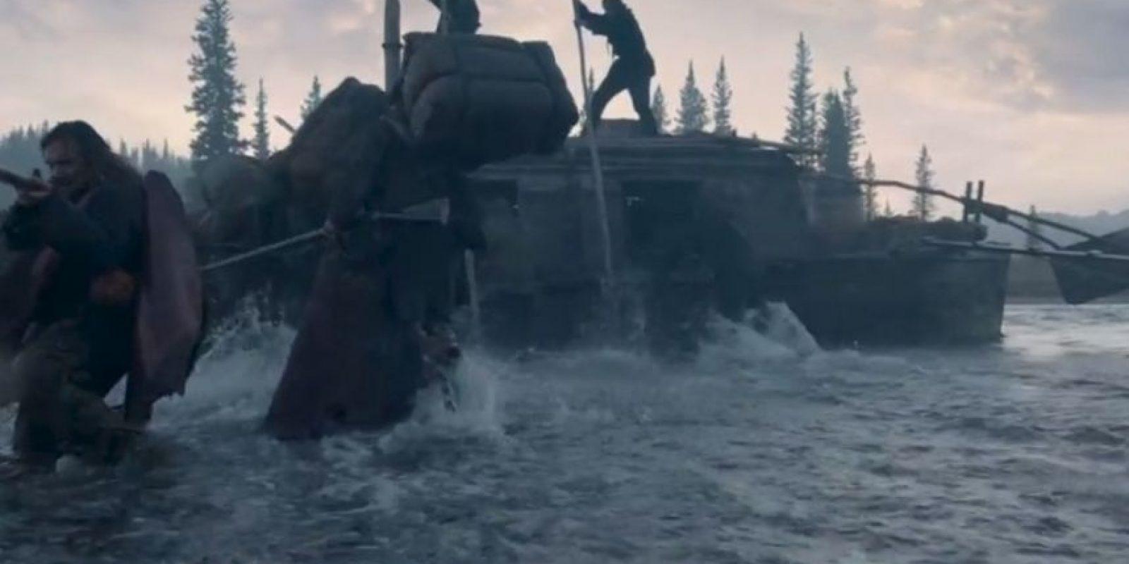 Uno de ellos fue cruzar ríos congelados. Foto:20th Century Fox
