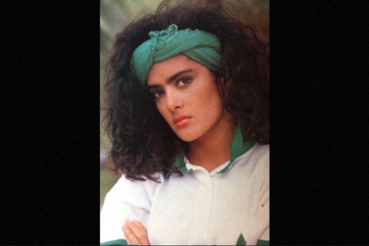 Así se veía la actriz en sus inicios. Foto:Facebook/YoLeiaLaRevistaEres