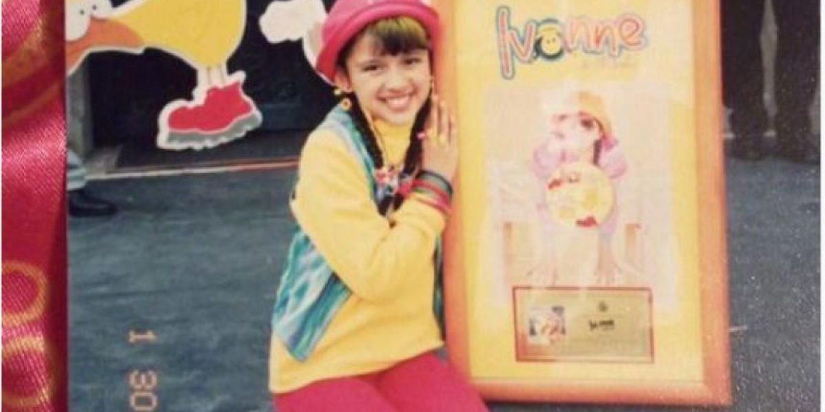 """FOTOS. Cantante mexicana saltó a la fama con """"Piquito de Pollo"""" a los 9 años, y así luce ahora"""