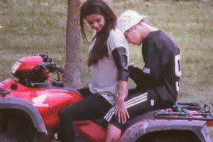"""Sin embargo, Justin solo se limitó a escribir: """"Es un simple TBT, cálmense"""". Foto:Instagram/justinbieber"""