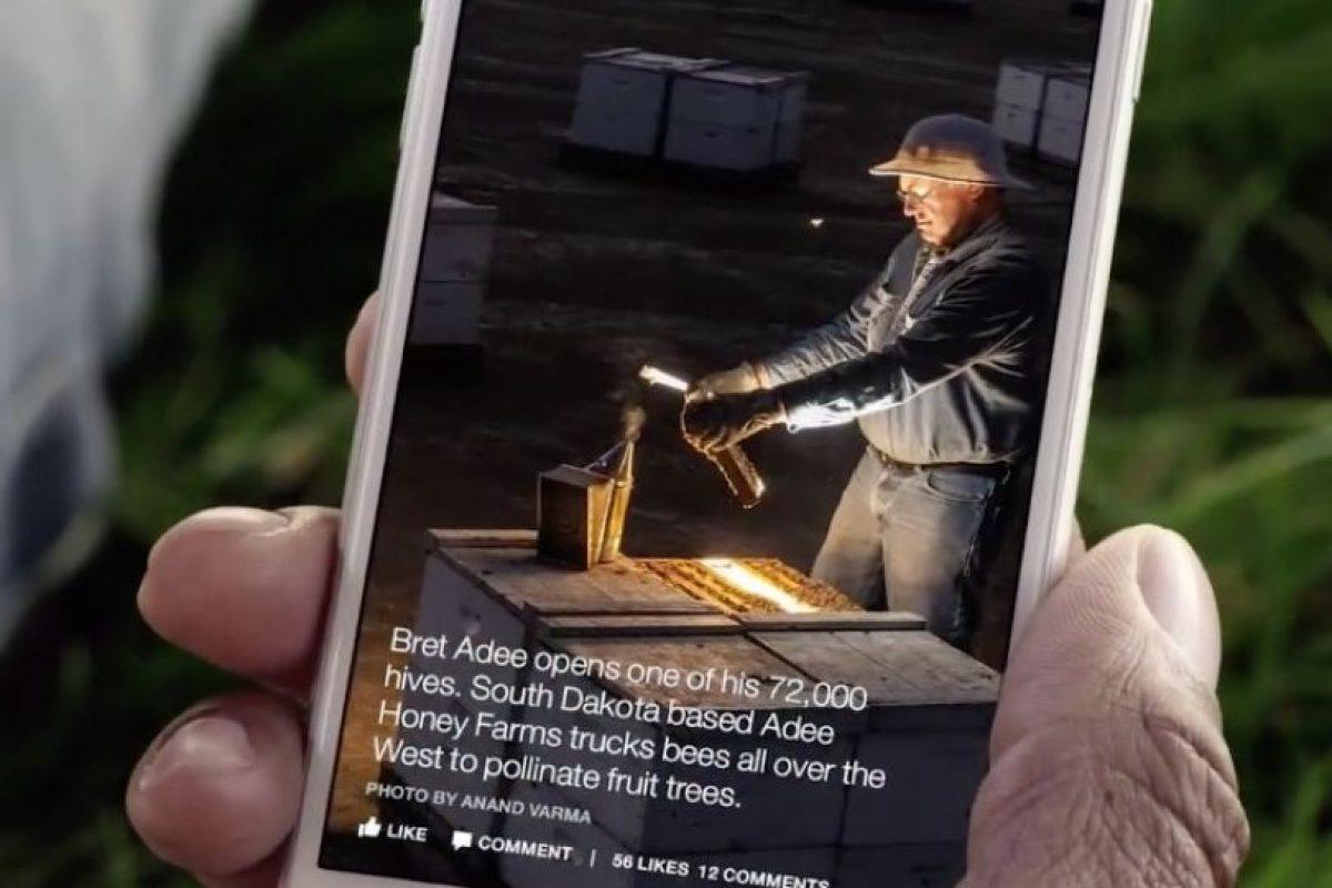 Es una nueva forma de enterarse de las noticias. Foto:Facebook
