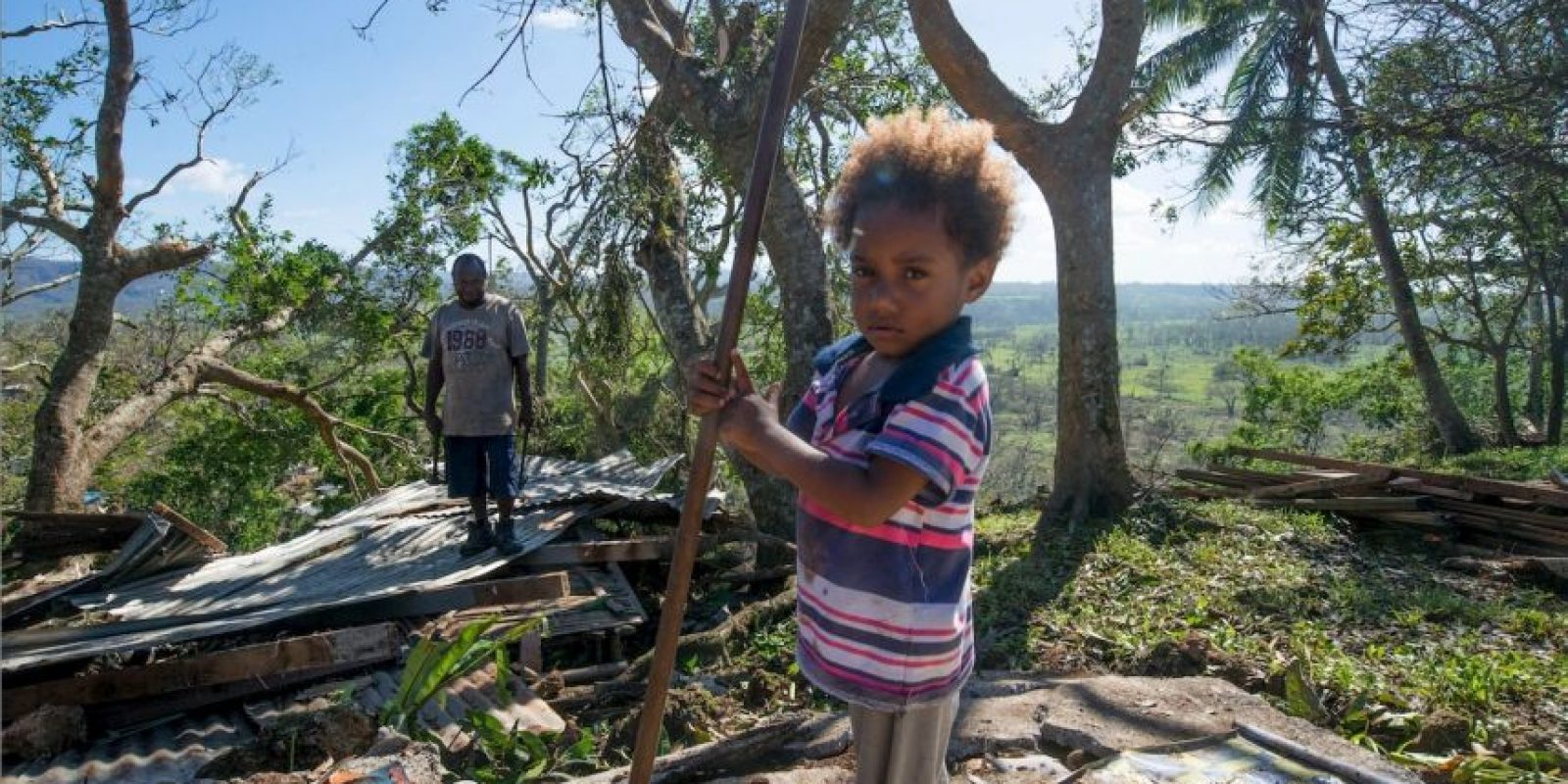 El 10 de marzo de este año, la isla padeció el peor ciclón del que tengan memoria Foto:Getty Images