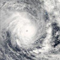 "Se trató de ""Pam"", una tormenta tropical que dejó cerca de 10 mil personas desplazadas Foto:Getty Images"