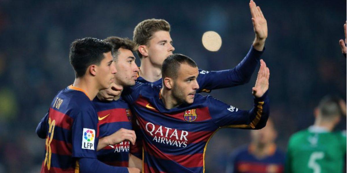 Las mejores imágenes de la clasificación del Barça en la Copa