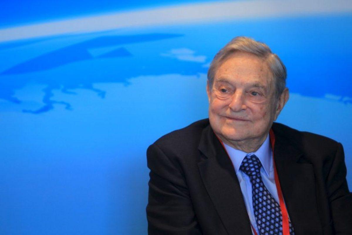 George Soros, presidente de Soros Fund Management Foto:Getty Images