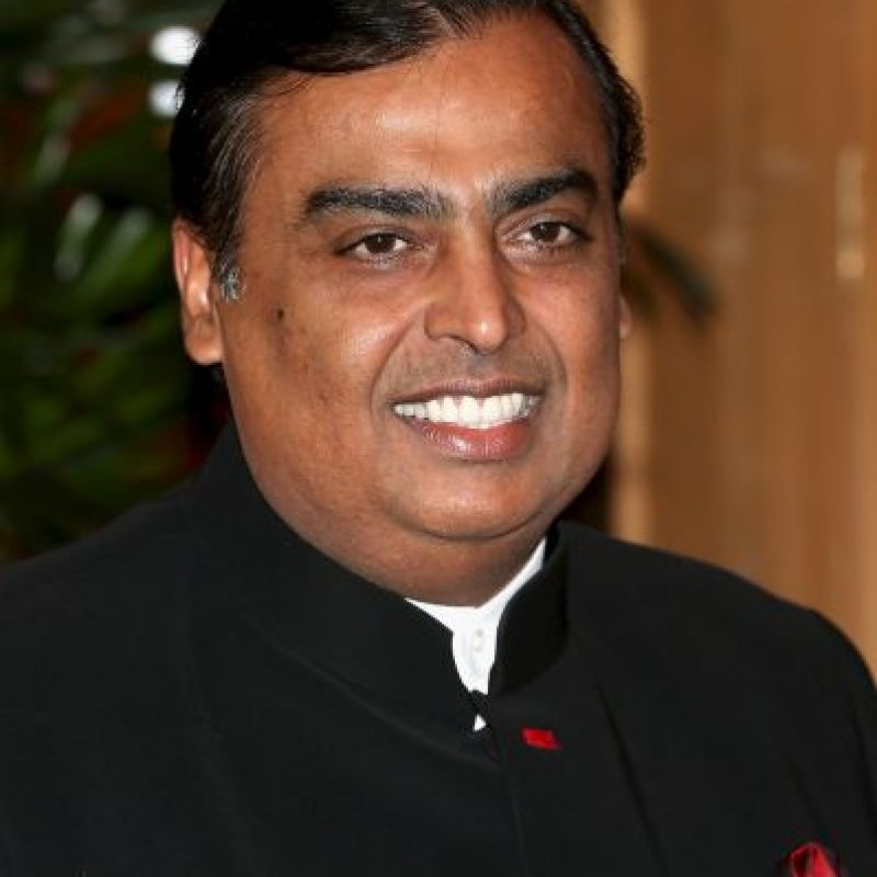 Mukesh Ambani, presidente de Reliance Industries Limited Foto:Getty Images