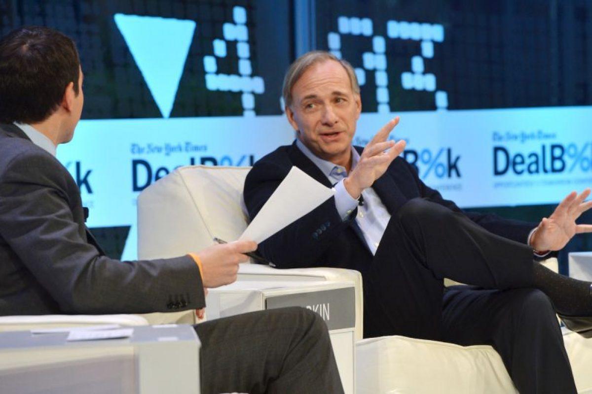Ray Dalio, fundador de Bridgewater Associates Foto:Getty Images