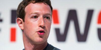 Mark Zuckerberg, CEO de Facebook Foto:Getty Images