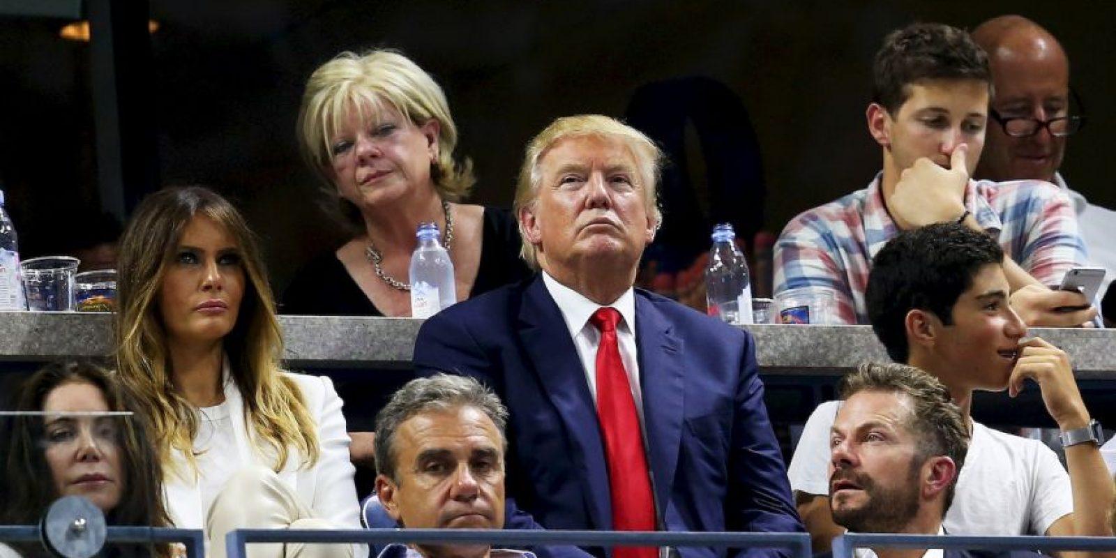 6. Lo mismo pasa con Trump, ya que un 59% piensa que es poco fiable. Foto:Getty Images