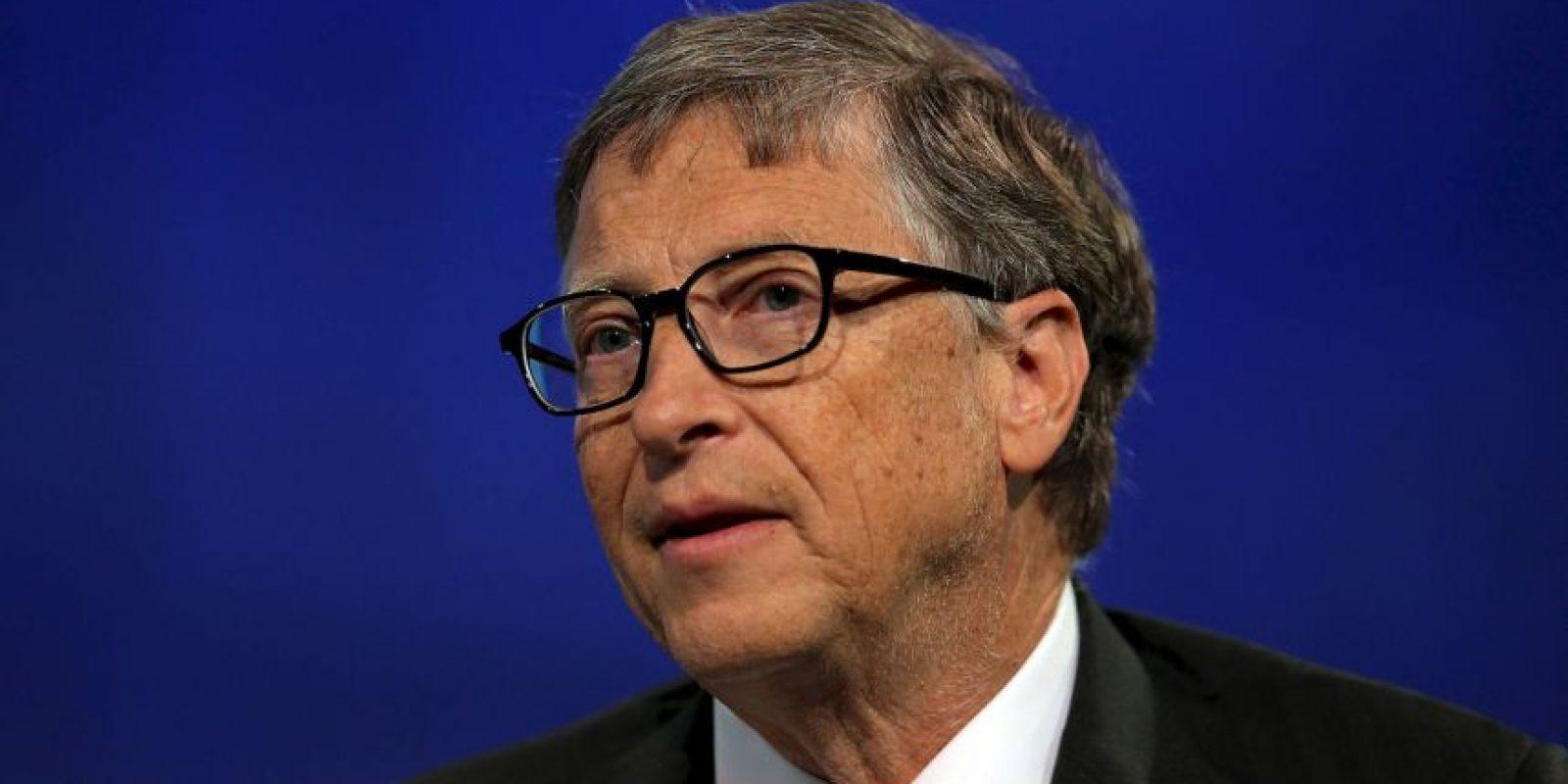 Todos se unieron gracias a Bill Gates, cofundador de Microsoft Foto:Getty Images