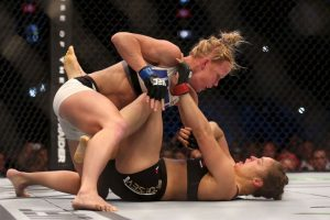 Es la primera mujer que venció a Ronda Rousey Foto:Getty Images